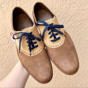Men's Cole Haan Two-Tone Oxford Dress Shoes 8.5